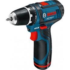 Bosch Cordless Drill/Driver, GSR 10.8-2-LI with max Torque 30 Nm, 10.8 V
