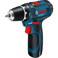 Bosch Cordless Drill/Driver, GSR 10.8-LI with Max. drilling diameter of 10 mm, 10.8 V