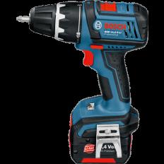 Bosch Cordless Drill/Driver GSR, 14.4 V-LI with Max Torque 60 Nm, 14.4 V