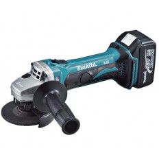 "Makita 2.2kg Cordless Angle Grinder, DGA402RFE with Grinding disc diameter 100 mm/4"" inch, 18V"