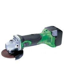 Hitachi Koki Cordless Tools Angle Grinder, G 14DSL with Grinding wheel dia 115 mm, 14.4 V